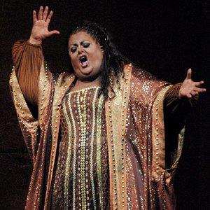 Deborah Voigt, pre-WLS, performing